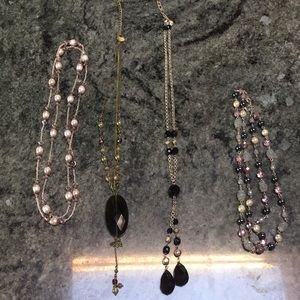 Jewelry - BUNDLE OF 4 NECKLACES